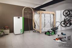 Brennstofflager: Gewebesilo für Pellets