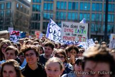 Protest für Fakten zum Klimawandel