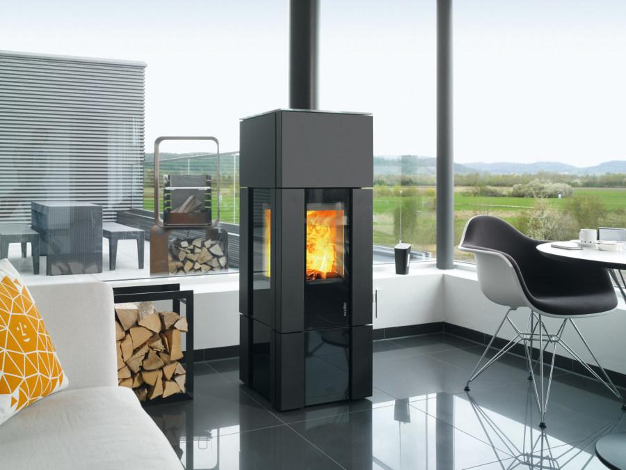 kaminofen innovation new look von wodtke pellets news. Black Bedroom Furniture Sets. Home Design Ideas