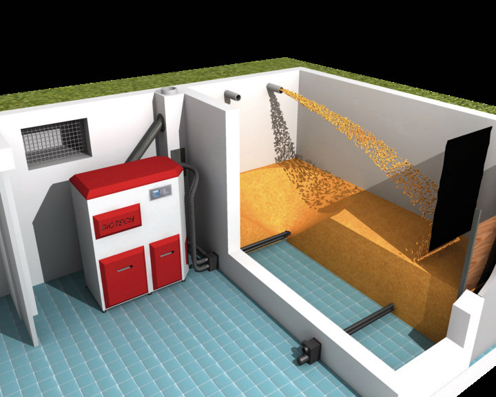 biotech energietechnik pelletlager silos tanks speicher f r pellets. Black Bedroom Furniture Sets. Home Design Ideas