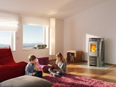 Pellets-Warmluftgeräte bekommen in Deutschland keine Zuschüsse mehr. Foto: Rika