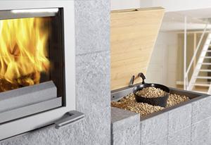 pellets scheitholz ofen im specksteinmantel pellets news. Black Bedroom Furniture Sets. Home Design Ideas